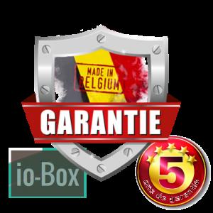 Garantie 5 ans io box