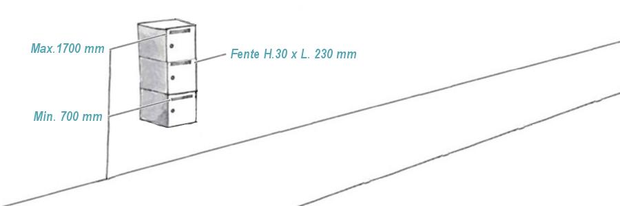 Regle 70 1700mm ok
